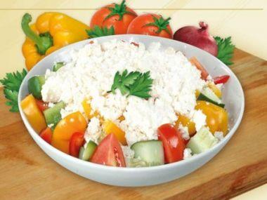 Recept Šopský salát