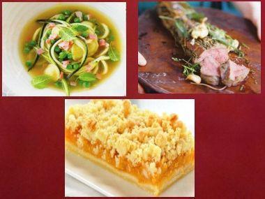 Sváteční oběd 34  Uzená polévka, Vepřová panenka a Koláč ...