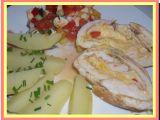 Kuřecí roláda ze srnčího hřbetu recept