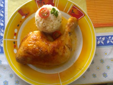 Pečená kuřecí stehýnka (recept pro začátečníky)