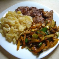 Krkovice se zeleninou recept