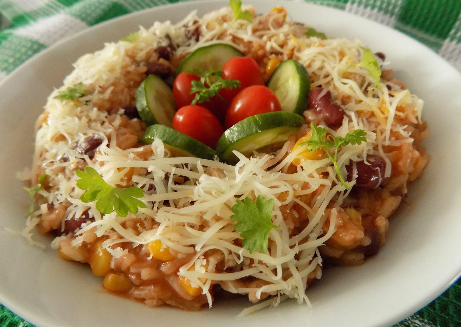 Rychlé bezmasé pikantní rizoto recept