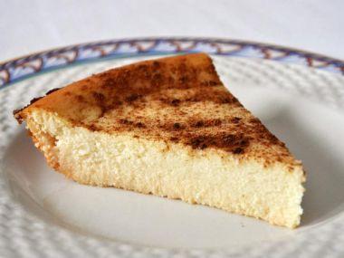 Melopita (řecký tvarohový koláč)