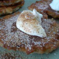 Smažené jablkové placičky recept