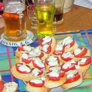 Rychlé párty chlebíčky recept