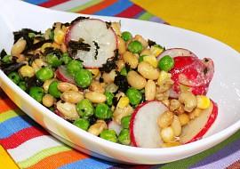 Sojový salát s hořčicovou zálivkou recept