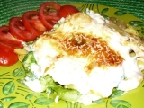Zapečené brambory s brokolicí v bešamelové omáčce recept ...