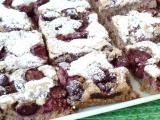 Třešňový koláč s ořechy recept