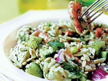 Recept Salát z těstovinové rýže