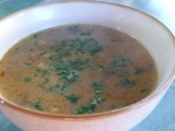 Bakoňská houbová polévka recept