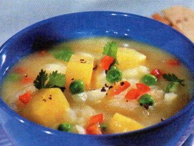 Indická bramborová polévka