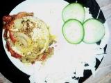 Pečený hermelín se zeleninou recept