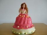 Můj první barbie dort recept
