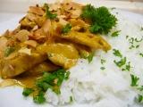 Kuřecí karí s mandlemi recept
