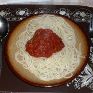 Falešné boloňské špagety recept