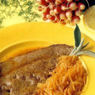 Telecí játra s mrkví recept