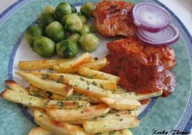 Kuřecí prsa v rajčatovo-česnekové marinádě recept