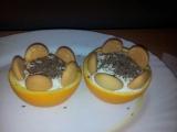Pomerančové košíčky recept