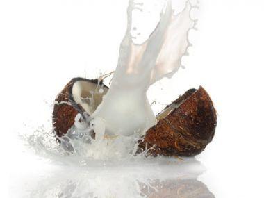 Kuřecí plátky s kokosovým mlékem