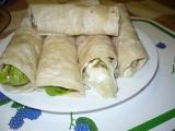 Plněné tortily s kuřecím masem recept