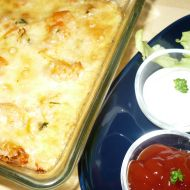 Krevetky zapečené v sýru recept