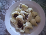 Bramborovo-tvarohové knedlíky. recept