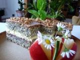 Krémové makové řezy recept