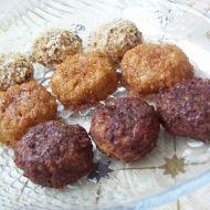 Pečené ořechové hrudky recept