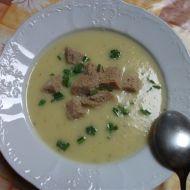 Polévka z cukety ala hrachovka recept