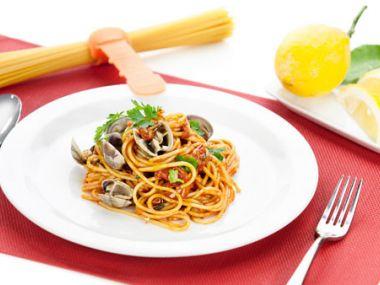 Recept Těstoviny s plody moře