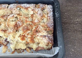 Rychlý koláč s ovocem, litý recept