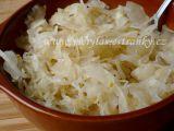 Domácí kysané zelí  salátové recept