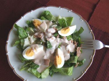 Salát z vajec s majonézou