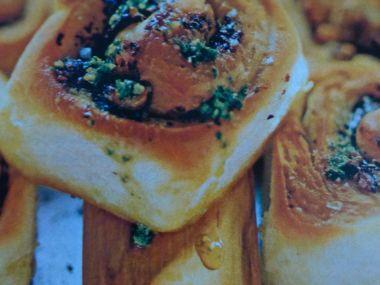 Pikantní chlebové šneky
