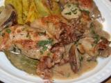 Francouzské kuře na smetaně a bílém víně recept