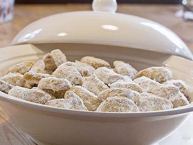 Bezlepkové vanilkové rohlíčky