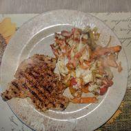 Vepřová pečeně se zeleninovou směsí recept