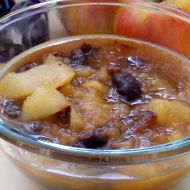 Kompot z jablek a sušených švestek recept