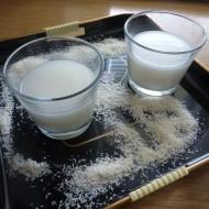 Kokosové mléko ze strouhaného kokosu recept