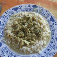 Kuřecí kousky v kokosovém mléce recept