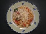 Špagety s červenou čočkou recept