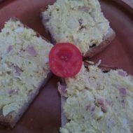 Snadná vajíčková pomazánka se šunkou recept