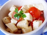 Nakládaná mozzarella recept