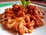 Boloňské špagety s mletým masem podle Petry recept  TopRecepty ...