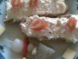 Česneková pikantní pomazánka recept