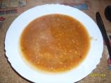 Rajská polévka s pohankou recept