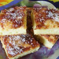 Kokosový cuketový koláč recept