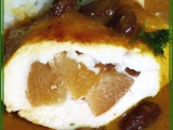 Kuřecí prsa s broskvemi v broskvích recept