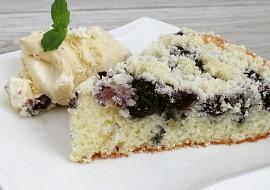 Borůvkový koláč s drobenkou recept