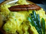 Krémová polenta s vejci recept
